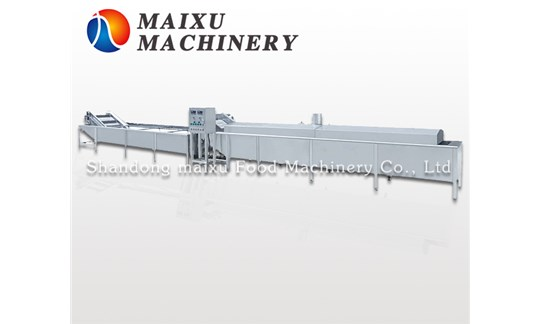 The structure, function and usage of steam - blanching and finishing line are introduced