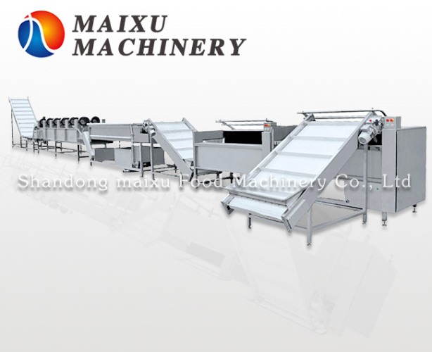Fruit and vegetable processing line